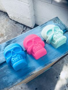 Basic B Bath Bomb, Skull Bath Bomb, Pink Bath Bomb, Pink Skull, Skulls, Blue Bath Bomb, Blue Skull, Green Bath Bomb, Green Skull, Gothic Skull Bath Bomb, Pink Baths, Blue Bath, Pink Skull, Bath Bombs, Skulls, Unique Jewelry, Handmade Gifts, Gothic