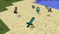 3D Items Mod para Minecraft 1.2.5