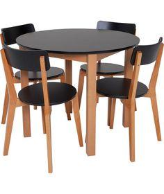 Buy Habitat Lance 4 Seater Round Dining Table