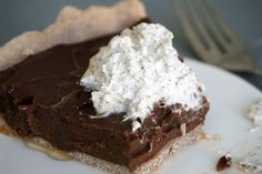 """Grazed and Enthused   AIP Salted """"Chocolate"""" Cream Pie & Otto's Cassava Flour Giveaway!"""