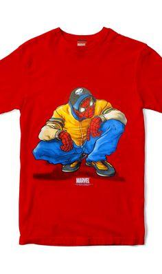 Graphic Tee Spiderman - Marvel 2003 - Found at Yellow Rat Bastard in NYC   yellowratbastard fd2fdcdf3604