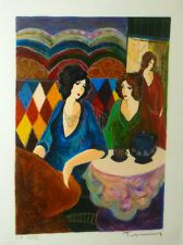 TARKAY 1996 Signed Numbered Original Serigraph with COA INTIMATE MOMENTS
