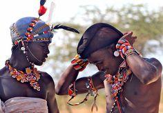 Local fashion: Beads in the ethnic jewelry of Africa Samburu Men African Jewelry, Ethnic Jewelry, Bead Jewelry, Jewellery, Kenya, Zulu Women, Beyond Beauty, Afro Art, Folk Costume