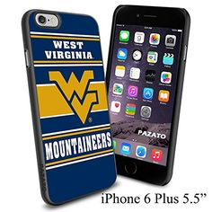 """NCAA WV WEST VIRGINIA MOUNTAINEERS , Cool iPhone 6 Plus (6+ , 5.5"""") Smartphone Case Cover Collector iphone TPU Rubber Case Black Phoneaholic http://www.amazon.com/dp/B00VVMFJPW/ref=cm_sw_r_pi_dp_5zlnvb0Z0NT9Z"""