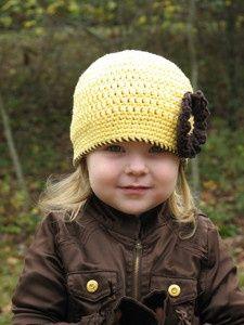 cute crochet hat pattern (to purchase)