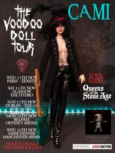 About The Voodo Doll: Cami All Star and her first Rock Tour ! Get your ticket now !