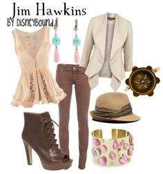 Jim Hawkins...Muppet Treasure Island.  This woman has thought of everything!