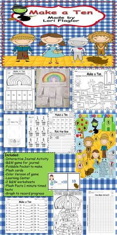 Your class will love learning their sums of 10. So many activities, so much fun!