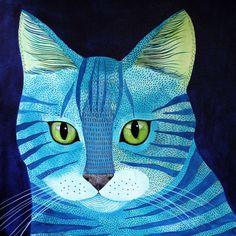 Kitty No.1 by Geninne on Etsy https://www.etsy.com/listing/197653889/kitty-no1