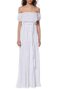 Mara Hoffman | Off the Shoulder Maxi Dress