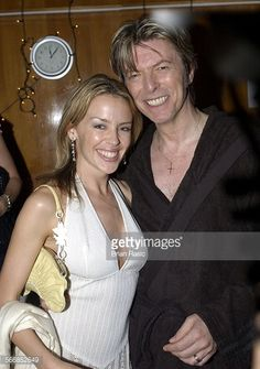 David and Kylie Minogue