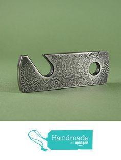 Damascus steel bottle opener from Vladimir Zubkov