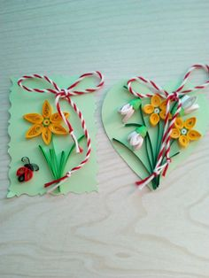 Nice Quilling Cards, Paper Quilling, 8 Martie, Snowflakes, Paper Art, Projects To Try, Templates, Crafts, Paper