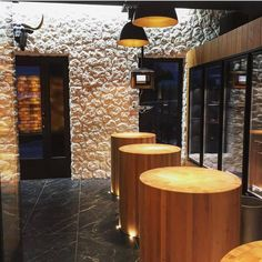 Butcher Store, Carnicerias Ideas, Protein Shop, Meat Store, Restaurant Interior Design, Restaurant Bar, Brewery, Athens, Street Food