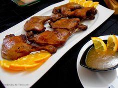 7gramas de ternura: Coxinhas de Pato com Mel e laranja
