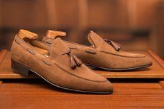 Enzo-Bonafe-Tassel Loafers
