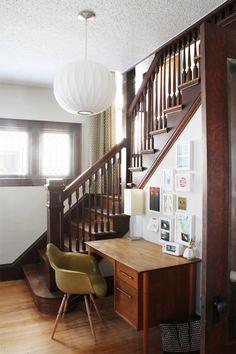 Work Space // Home Office // Desk // Home Decor // Interior Design