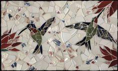 Hummingbirds in Flight © Jenifer Strachan