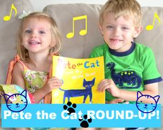 Pete the Cat: I Love My White Shoes ROUND-UP! #linky #pinterest