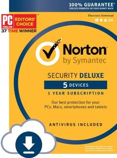Norton Security Deluxe – 5 Devices [Download Code] at Amazon - Get the best price at #BestPriceSale #Deals