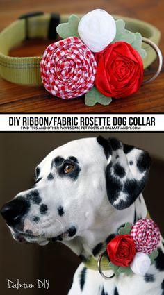 Navy Vintage Floral Flowers Rose Rosette Tie On Dog Bandana