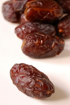 Dates - chop them up, sprinkle them on, maybe with a drizzle of honey. Yum!