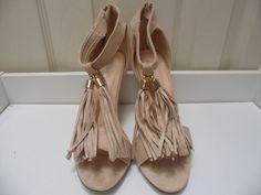 Womens Ladies Beige High Heel Tassel T-Bar Sandals Shoes Size UK 4,6,7,8 New    Useful Info:  - Standard Size - Standard Fit - By Top Or - Beige In Colour - Heel Height: 4 Inches - Back Zip Fastening - Tassel Detail To The T-Bar - Faux Suede Upper - Textile/Other Materials Lining #shoes #sandals #beige #T-bars #highheel #highheels #tassels #fashion #footwear #forsale #womens #ladies #ebay #ebayseller #ebayshop