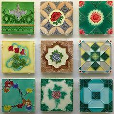 """130 Likes, 3 Comments - RiRi りり (@riri_tiles) on Instagram: """"Japanese tiles / INAX tile museum in Japan…"""""""