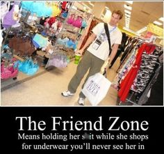 oh the famous friend zone