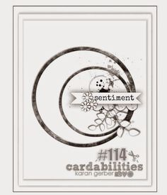 February Card Inspiration Challenge - Sketch - Scrapbook.com