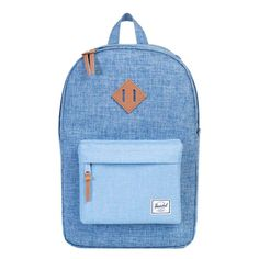 Herschel Supply Co. Heritage Rugzak limoges crossh / chambray crossh / tan leather