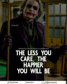 Fuckin' A man! # The Joker Joker Qoutes, Best Joker Quotes, Badass Quotes, Bitch Quotes, Attitude Quotes, Mood Quotes, True Quotes, Best Quotes, Motivational Quotes