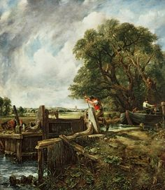 Fan account of John Constable, an English Romantic painter. Born in Suffolk, he is known principally for his landscape paintings. Landscape Art, Landscape Paintings, John Constable Paintings, Infinite Art, English Artists, Oil Painting Reproductions, Old Master, Beautiful Paintings, Great Artists