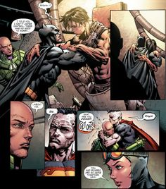 Say what you want about Forever Evil, but this page made it perfect.