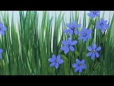 In this video, I show you how to paint blue eyed grass wildflowers with acrylic paint. You can find the links for the other wildflowers here: HOW TO PAINT WI...