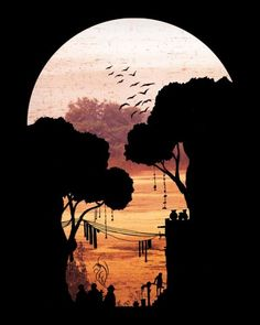 Illustrations by Glasgow, Scotland based illustrator David Fleck