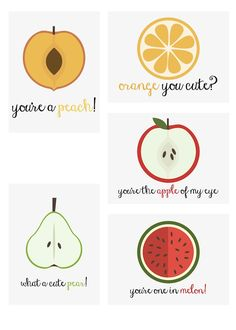 Free Fruity Puns Printables | scrappystickyinkymess