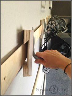 Garage Organization- CLICK PIC for Many Garage Storage Ideas. #garage #garagestorage