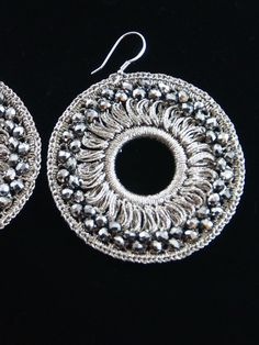 Paco de la Mancha Bakula Crochet Earrings from Resortique