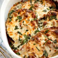 Eggplant Parmesan  http://tablefortwoblog.ziplist.com/recipes/1388041-Eggplant_Parmesan?utm_source=Silverpop_medium=email_campaign=Weekly%20Recommendations%203-24-13%20with%20Campbells%20Banner%20(1)=5297016=MzgzNDg1NzA3MTcS1=314852271=MzE0ODUyMjcxS0