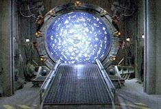 stargate it is not a  timemachine but it can be used for time travel