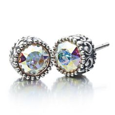 Chamilia Sterling Silver Princess Stud Earrings #chamilia #earrings