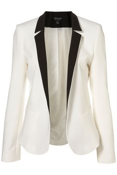 I am still obsessed with a white tuxedo blazer