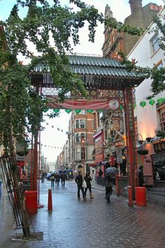 Chinatown London - touristy and a bit tacky but fun and I know a nice place to get good veggie food