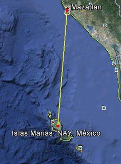 ruta de mazatlan a islas marias | epoca de oro de tintan tal vez en los cuarentas