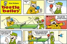Beetle Bailey strip for May 10, 2015