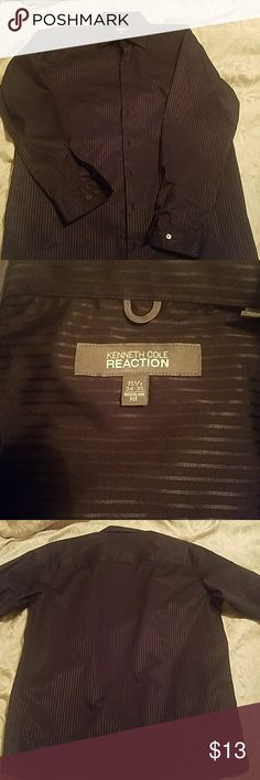KENNETH COLE REACTION pinstripe shirt Like new men's dress shirt, size 15.5 neck, 34-35 regular fit, pinstripe, accepting all reasonable offers,bundle for discounts Kenneth Cole Reaction Shirts Dress Shirts