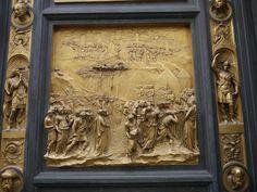 Basilica di Santa Maria del Fiore, Battistero di San Giovanni - East Entrance Doors by Lorenzo Ghiberti.