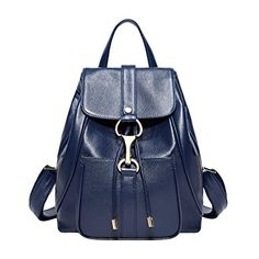 Shop a great selection of BOYATU Real Leather Backpacks Purse Women Ladies Fashion Travel Shoulder Bag (Royal Blue). Find new offer and Similar products for BOYATU Real Leather Backpacks Purse Women Ladies Fashion Travel Shoulder Bag (Royal Blue). Sling Backpack Purse, Leather Backpack Purse, Satchel Purse, Leather Backpacks, Ladies Backpack, Travel Backpack, Fashion Handbags, Fashion Bags, Fashion Backpack