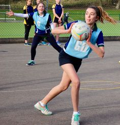 The girls have a full programme of netball in the Lent term. Netball, Sports Images, Basketball
